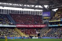 SPOR TOTO - Galatasaray Taraftarından Kadıköy'de Anlamlı Pankart