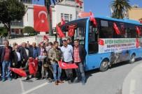 ANTAKYA - Hataylı Otobüs Şoförlerinden Mehmetçiğe Destek