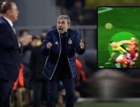 SERDAR AZİZ - Kocaman'dan penaltı isyanı!