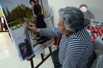 DÜŞÜNÜR - Resim Yapma Hayaline Emeklilikten Sonra Kavuştular