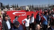 GAZİ YAKINLARI - Şehit Ve Gazi Ailelerinden Zeytin Dalı Harekatı'na Destek