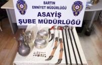 POLİS - Tarihi Eserleri Satmaya Çalışırken Yakalandılar