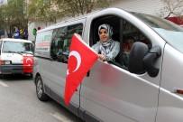 ŞEHİTLER GÜNÜ - Afrin'e Giren Mehmetçiğe Manisa'dan Konvoylu Destek
