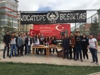 GENÇLIK PARKı - Afyonkarahisarlı Esnaftan Vatandaşlara Üzüm Hoşafı Ve Ekmek Dağıttı