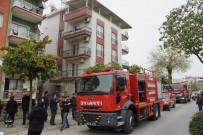 GÜVENLİK ÖNLEMİ - Aydın'da Yangın, Dumandan Etkilenen 7 Kişi Hastaneye Kaldırıldı