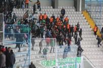 KAZIM KARABEKİR - B.B Erzurumspor - Akın Çorap Giresunspor Maçının Ardından Tribünler Karıştı
