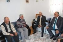 ŞEHİTLER GÜNÜ - Başkan Şanlı Şehit Ailelerini Ziyaret Etti