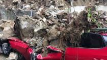 Beşiktaş'ta İstinat Duvarı Çöktü