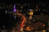 FENER ALAYI - Çanakkale Zaferi'nin 103. Yılında Fener Alayı Coşkusu