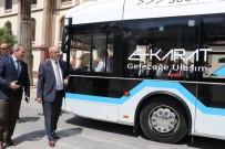 ELEKTRİKLİ OTOBÜS - Elektrikli Otobüsler Manisa'nın Trafiğini Rahatlatacak