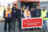 İLKÖĞRETİM OKULU - Eyüpsultan Belediyesi Yaşanabilecek Doğal Afetlere Karşı İhtiyaç Konteyneri Hazırladı