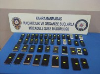 CEP TELEFONU - Kahramanmaraş'ta 45 Adet Kaçak Cep Telefonu Ele Geçirildi
