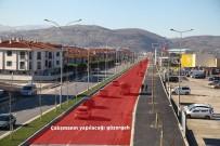 GÜZERGAH - Kipa-Yazlık Kavşağı Arasındaki Arterde Yol Çalışması