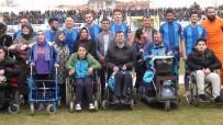 ALTI NOKTA KÖRLER DERNEĞİ - Kütahyaspor'a Engelli Vatandaşlardan Destek