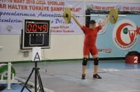 HALTER ŞAMPİYONASI - Okul Sporları Yıldızlar Türkiye Halter Şampiyonası Sona Erdi