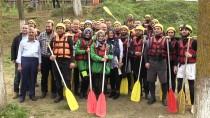MELEN ÇAYI - Raftingcilerden Çanakkale Duyarlılığı