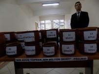 MUSTAFA BÜYÜKYAPICI - Şehitler İçin 81 İlden Toprak Taşıdılar