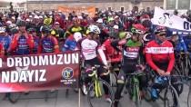FATIH YıLMAZ - Şehitleri Anma Ve Zeytin Dalı Harekatı'na Destek Bisiklet Sürüşü