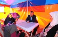 GENÇLİK KOLLARI - Taş, Gönül Çadırı'nda Vatandaşlarla Buluştu