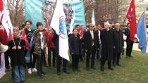 TANDOĞAN - Türkmen Dostluk Hareketi Derneğinden Saygı Yürüyüşü