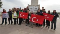 AFDOS Üyeleri Çanakkale Şehitleri İçin Yürüdü