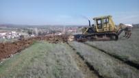 YENIKÖY - Alaşehir'de Yeni Mezarlık Alanı İçin Çalışma Başladı