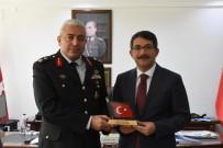 JANDARMA KOMUTANI - Başkan Çelik'ten Tuğgeneral Can'a Afrin Teşekkürü