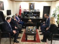 TOPLANTI - Başkan Kafaoğlu, Burhaniye'de