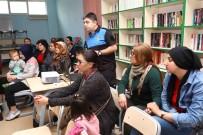 KÜTÜPHANE - Bayraklı'da 'Kadına Şiddete Hayır' Semineri