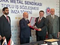 TOPLU İŞ SÖZLEŞMESİ - BMC - Türk Metal Sendikası Toplu İş Sözleşmesi İmza Töreni Yapıldı