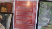 MEMUR EMEKLİSİ - Burhaniye'de 85'Lik Şair Evinde Şiir Sergisi Açtı