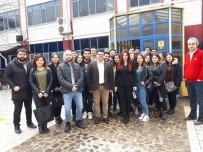 GIDA SEKTÖRÜ - Burhaniye'de Üniversiteliler Fabrika Ziyareti Yaptı