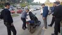 MUSTAFA ÇETIN - Çalınan Motosikletini 10 Ay Sonra Tesadüfen Hastane Bahçesinde Buldu