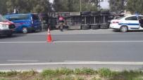 DİREKSİYON - Direksiyon Başında Kalp Krizi Geçiren Tır Sürücüsü Öldü