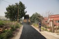 YÜKSELEN - Erdemli Belediyesi, Asfalt Ve Yol Çalışmalarını Sürdürüyor