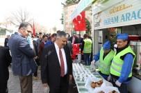 ŞEHIT - Ereğli Belediyesi Çanakkale Zaferi Anısına Yarım Ekmek Ve Üzüm Hoşafı Dağıttı