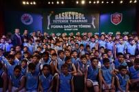 TURGUT ÖZAL - Geleceğin Basketbolcularına Teşvik