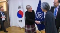 GÜNEY KORE - Güney Kore Dışişleri Bakanı Nato Karargâhında