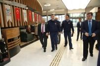 TOPLANTI - Hava Tuğgeneral Ercan Teke'den Memduh Büyükkılıç'a Nezaket Ziyareti