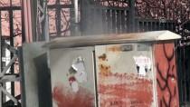 ELEKTRİK TRAFOSU - Kağızman'da Elektrik Trafosu Patladı