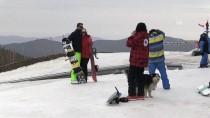 KAYAK SEZONU - Kartalkaya'da Kayak Sezonu Sona Eriyor