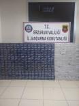 KAÇAK - Köprüköy'de 5 Bin 300 Paket Kaçak Sigara Ele Geçirildi