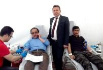 ALI ERDOĞAN - Köseceli'den Mehmetçik'e Kan Bağışı