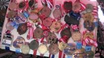 MILLI ATLET - Köyde Dünya Şampiyonasına Hazırlanıyor