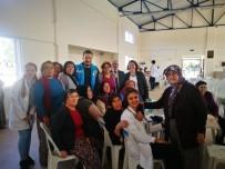 YAŞLILAR HAFTASI - Kumluca'da Yaşlılar Evlerinde Ziyaret Edildi