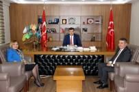TABUR KOMUTANLIĞI - MHP Kayseri Teşkilatı Ankara'dan Mutlu Döndü