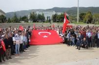 REKTÖR - Mustafa Kemal Üniversitesinden Afrin Zaferi Yürüyüşü