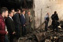 GENÇLİK KOLLARI - Odunpazarı Belediyesi'nden Esnaf Sarayı'na Geçmiş Olsun Ziyareti