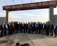 ŞEHİT YÜZBAŞI - Parlamenterler Birliği Yönetim Kurulu Askeri Üst Bölgesini Ziyaret Etti