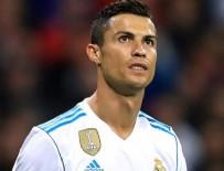 REAL MADRID - Ronaldo, Real Madrid'i galibiyete taşıdı